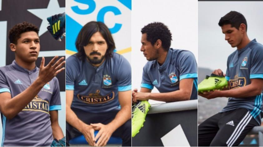 ¡Sporting Cristal presentó su nueva camiseta alterna!