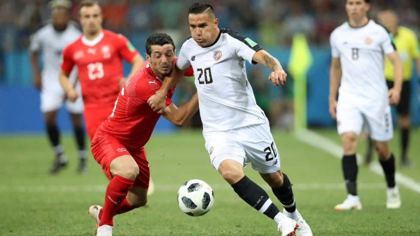 Suiza igualó 2-2 con Costa Rica por la tercera fecha del grupo E de Rusia 2018.