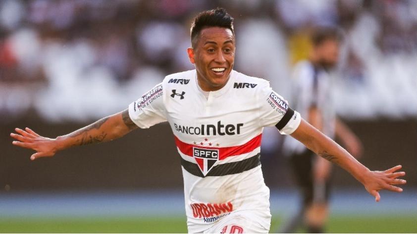 ¿Cuándo volverá a jugar Christian Cueva en Sao Paulo?