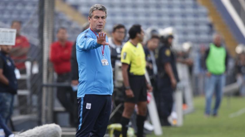 """""""La única presión que existe en el fútbol es el próximo partido"""", esto dijo Pablo Bengoechea."""