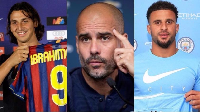 Pep Guardiola y sus 10 fichajes más caros en Barcelona, Bayern Munich y Manchester City