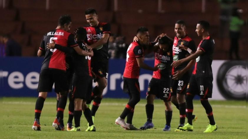 ¡Ruge el 'León'! FBC Melgar ganó 2-0 al Caracas FC en la ida de la tercera fase de la Copa Libertadores 2019