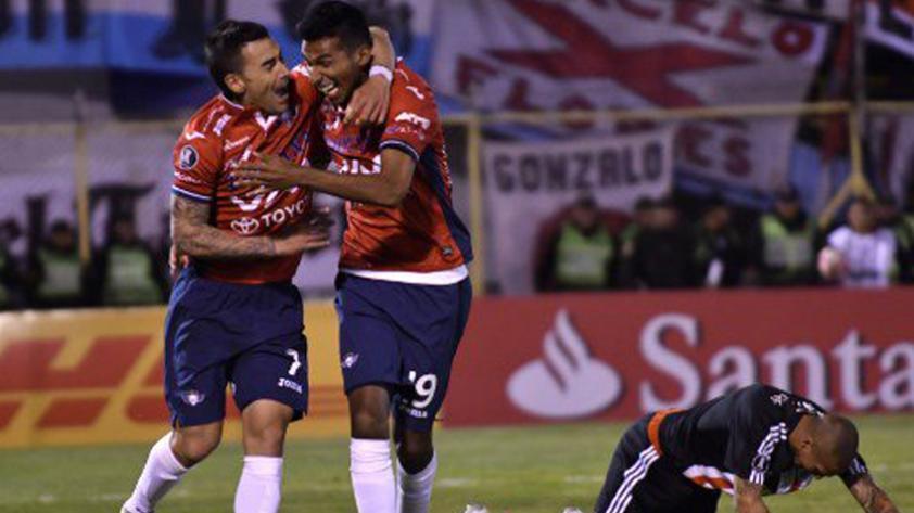 Wilstermann de Roberto Mosquera derrotó 3-0 a River Plate por la Copa Libertadores