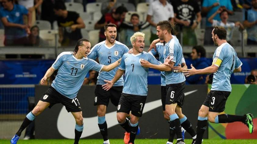 ¡Goleada 'charrúa'! Uruguay ganó por 4-0 en su debut ante Ecuador en la Copa América 2019