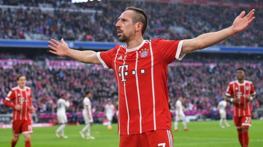 Bayern Múnich: Ribery renueva una temporada más con el equipo bávaro