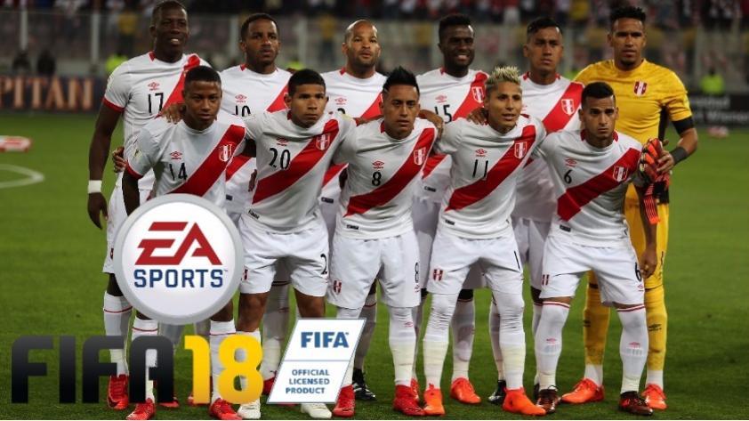 Selección Peruana saldrá en edición especial de Rusia 2018 en videojuego FIFA