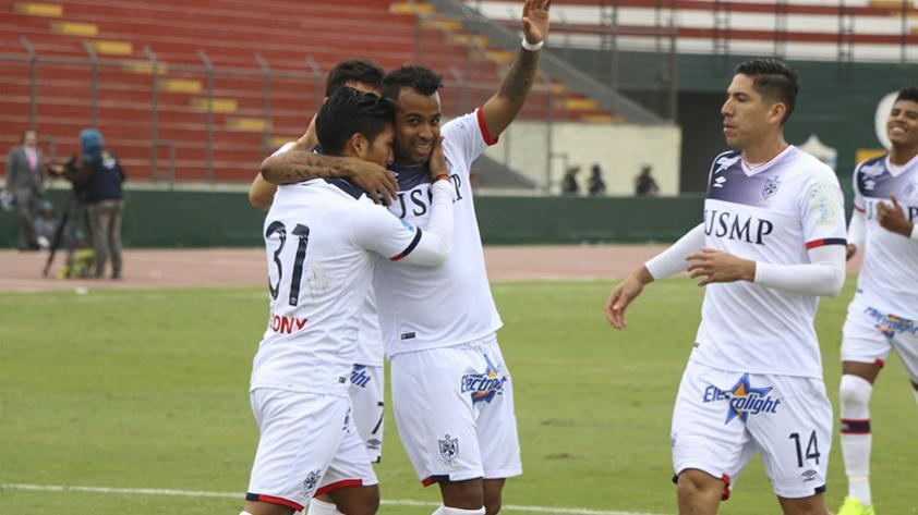 La San Martín goleó 4-1 a Aurich en el Callao