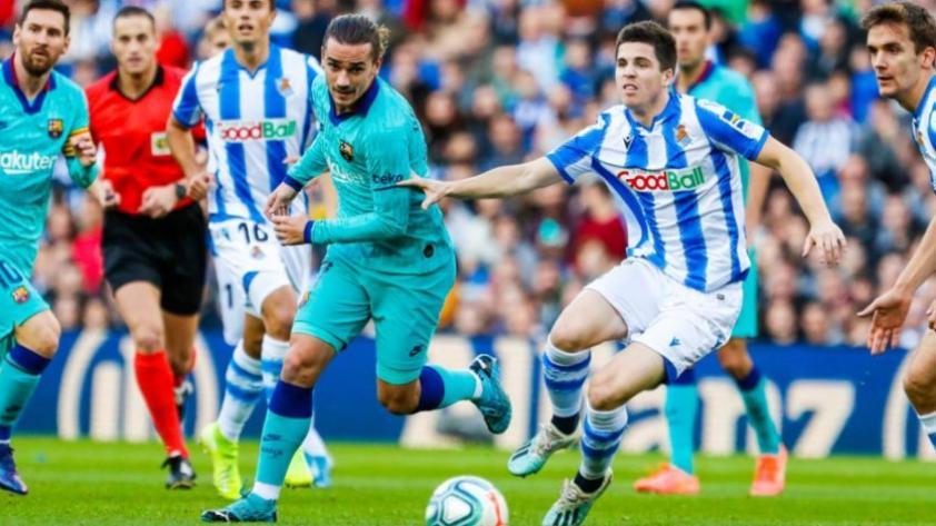 Barcelona empató 2-2 con Real Sociedad por la fecha 17 de La Liga