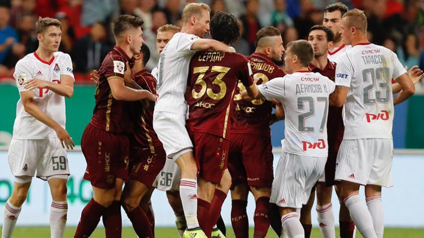 Rubin Kazan y Lokomotiv Moscú igualaron sin Carlos Zambrano y Jefferson Farfán en cancha