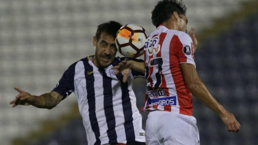 Alianza Lima perdió 1-0 ante Junior de Barranquilla perdió en Copa Libertadores