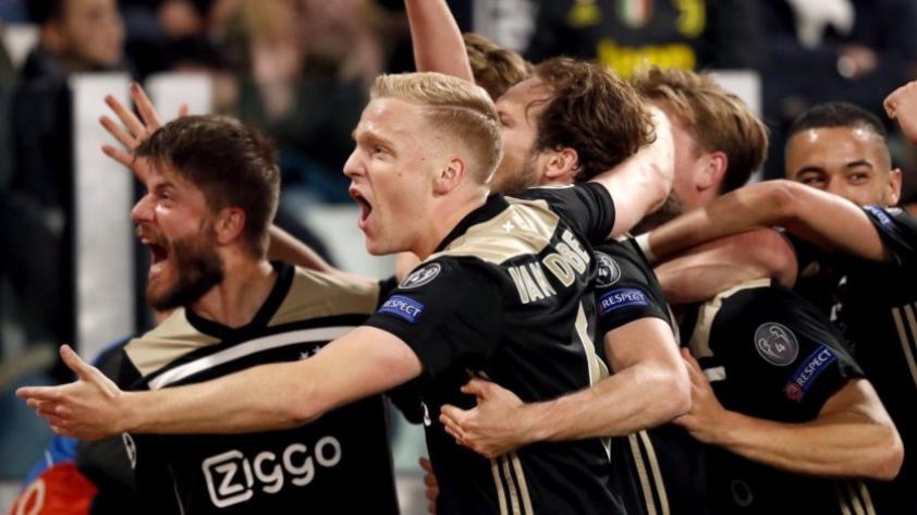 Adiós Cristiano: Juventus perdió 2-1 ante Ajax en Turín y quedó eliminado de la Champions League