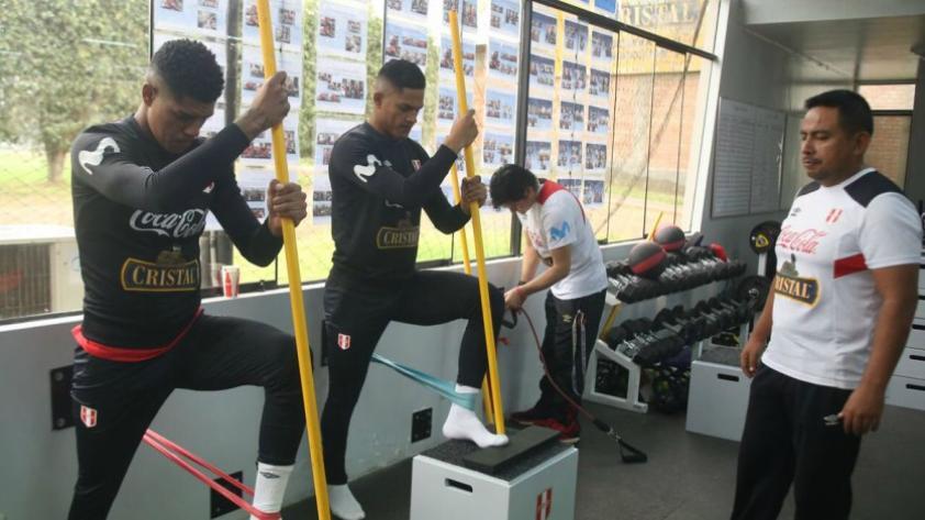 Selección Peruana: sigue por cuarto día los entrenamientos con miras a Rusia 2018