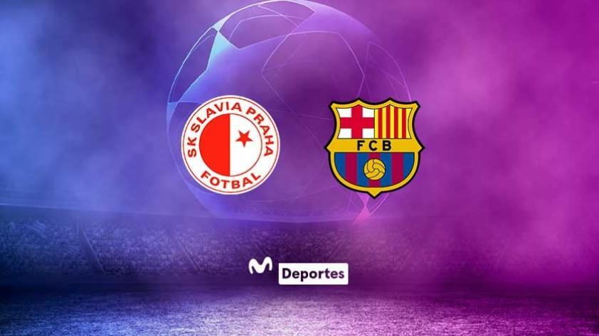 Slavia Praga vs. FC Barcelona EN VIVO ONLINE desde República Checa por la fase de grupos de Champions League