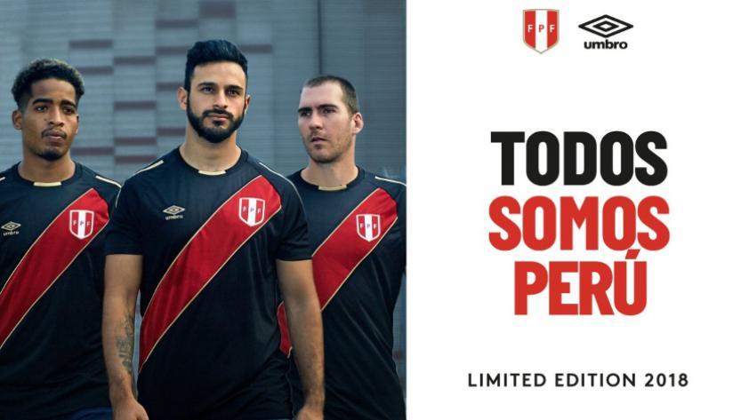 Selección Peruana: la nueva camiseta con edición limitada