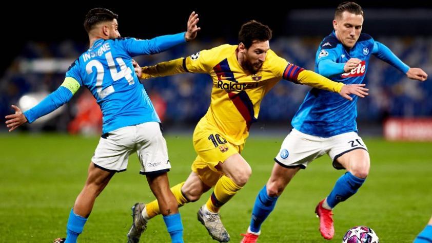 Se juega sí o sí: UEFA confirmó que el partido entre el Barcelona y el Napoli se jugará este 8 de agosto