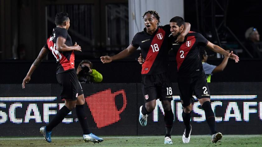 """André Carrillo: """"Hubiésemos preferido ganar la final de la Copa América a Brasil que este partido"""""""