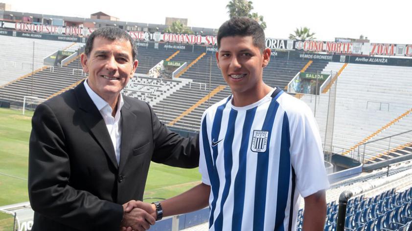 Alianza Lima promueve un juvenil más al primer equipo