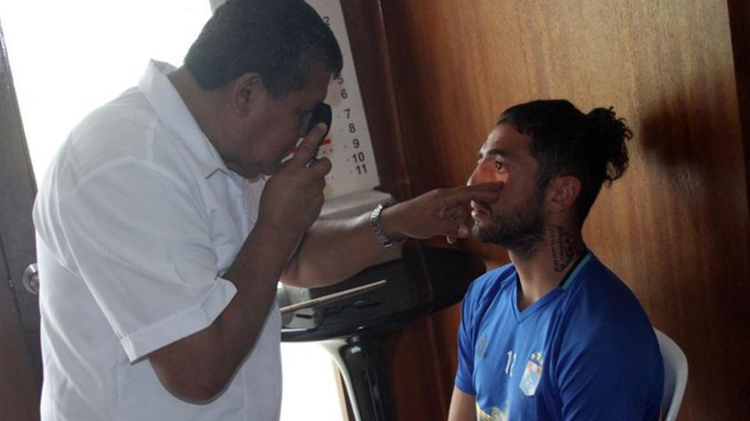 Viana y Garcés fueron sancionados por no ir al doping