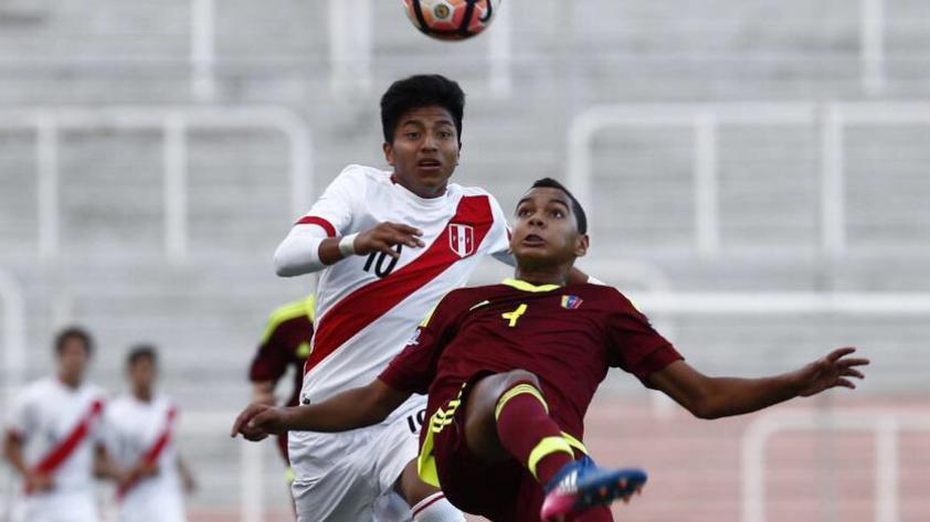Perú vs. Venezuela: empate 0-0 por el Sudamericano Sub 15 con debut de la