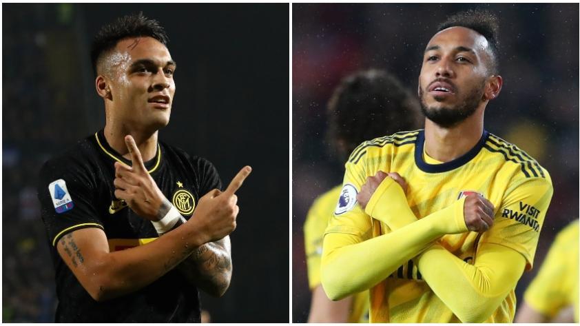 Entre Lautaro y Aubameyang: los dos delanteros que interesan en Barcelona para reforzar el ataque