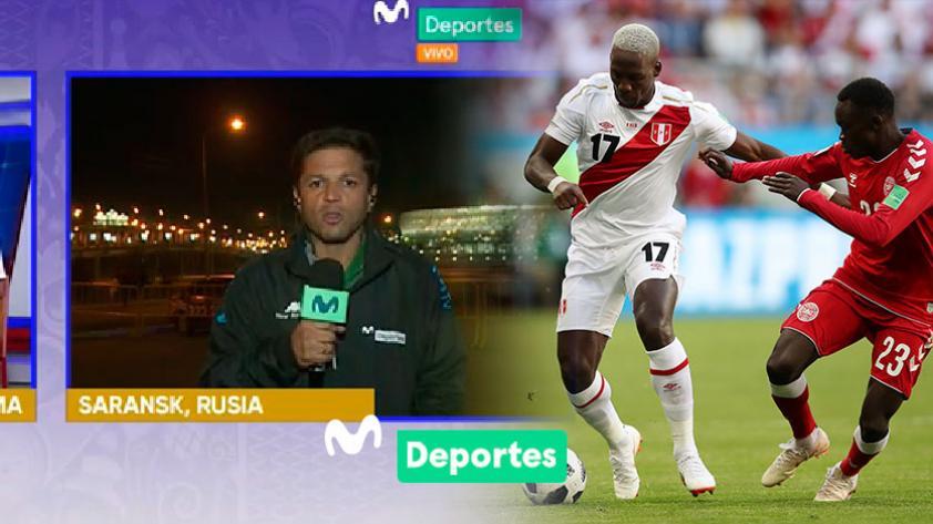 """Pedro García sobre el Perú - Dinamarca: """"Perú jugó respetando el libreto que lo trajo al Mundial"""""""