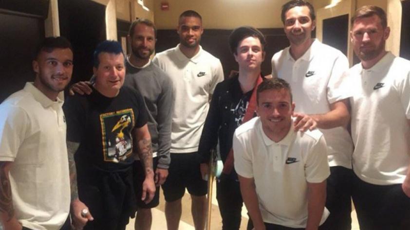 Repechaje: Selección de Nueva Zelanda y Green Day se encontraron en hotel limeño