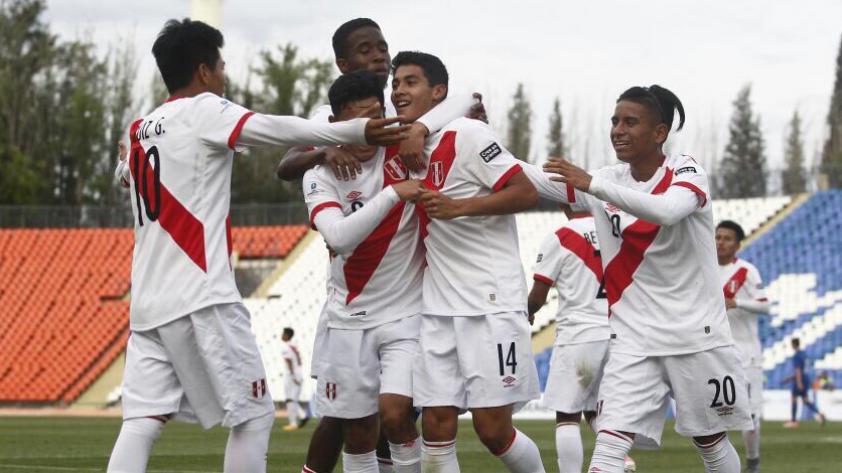 Perú superó 3-0 a Croacia por el Sudamericano Sub 15