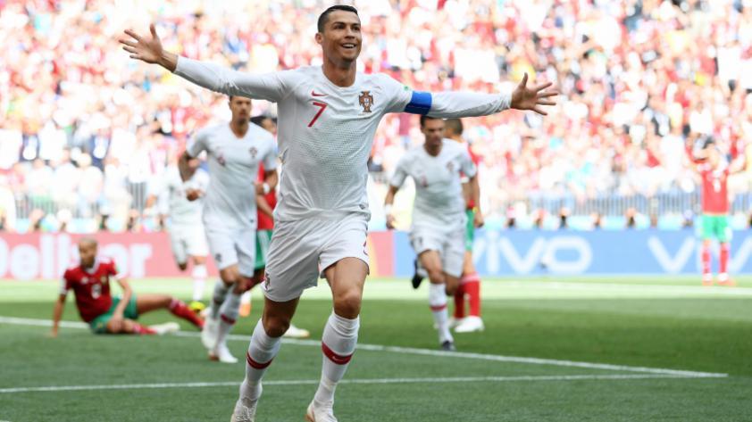 Portugal derrotó 1-0 a Marruecos por la segunda fecha del grupo B de Rusia 2018