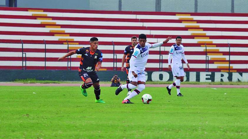 San Martín y Ayacucho igualaron 1-1 en el Callao