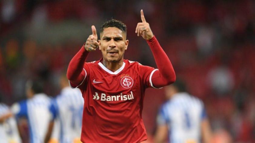 No se cansa de anotar: Guerrero volvió a anotar y le dio la clasificación al Inter de Porto Alegre a los 4° de final de la Libertadores (VIDEO)