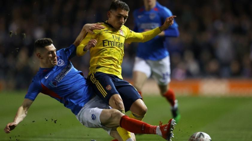 ¡Mala suerte! El volante uruguayo Lucas Torreira se rompió el tobillo con el Arsenal de Inglaterra