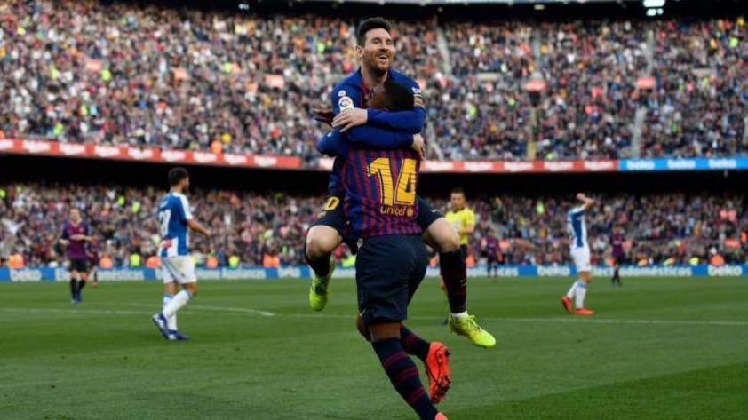 ¡Doblete de Messi! Barcelona gana por 2-0 al Espanyol en La Liga (VIDEO)