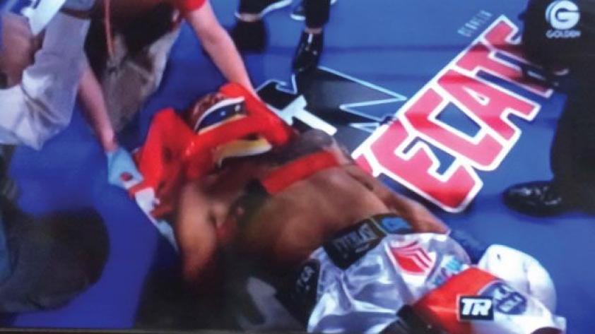¡Una pena!: Jonathan Maicelo cayó ante Raymundo Beltrán
