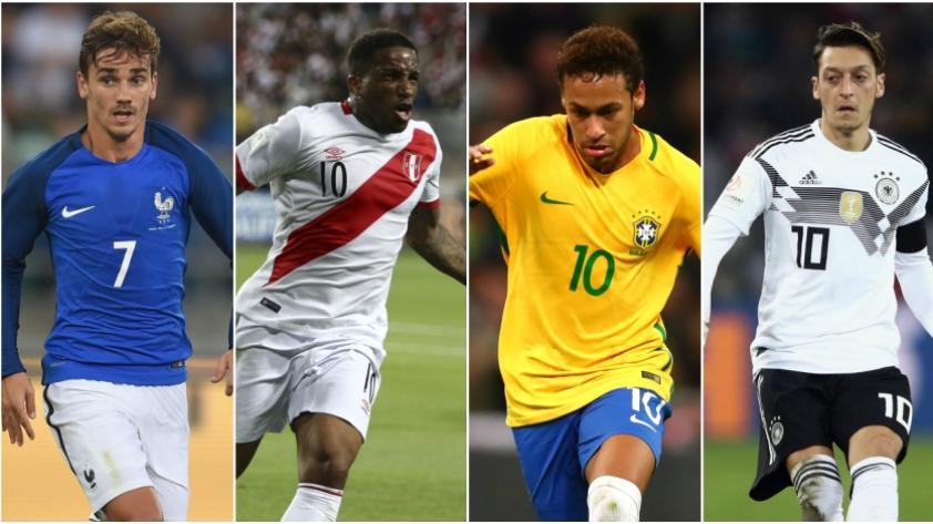 Rusia 2018: FIFA aumentó a 35 jugadores en la lista preliminar del Mundial