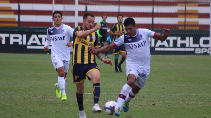 San Martín y Sport Rosario igualaron 1-1 en el Callao