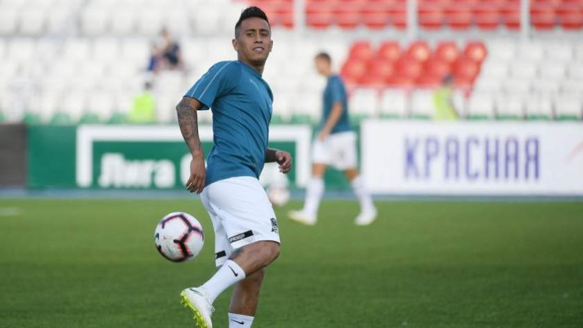 Cueva debuta en la Europa League con triunfo del Krasnodar