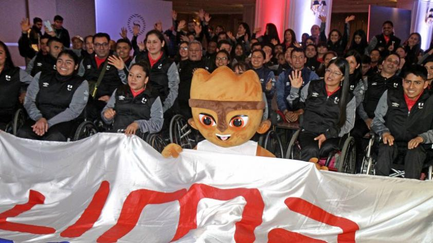 Parapanamericanos 2019: delegación peruana fue presenta y contará con un total de 139 Para deportistas