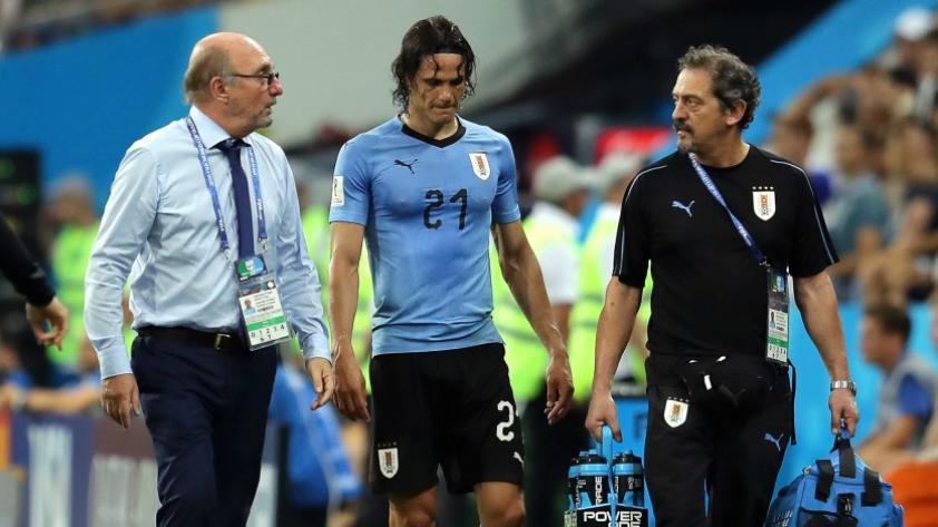 Edison Cavani no jugará ante Francia según prensa internacional