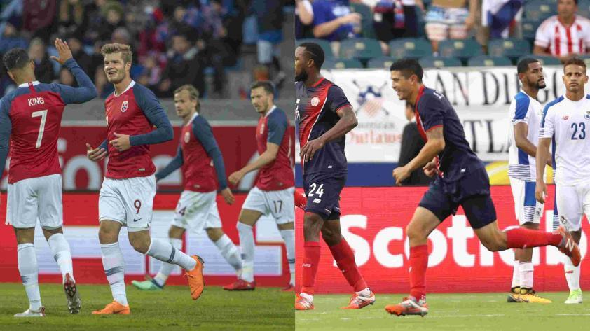 Panamá cayó 1-0 ante Noruega en amistoso previo a Rusia 2018