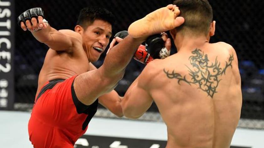 UFC: Enrique Barzola, Humberto Bandenay Claudio Puelles pelearán en Santiago