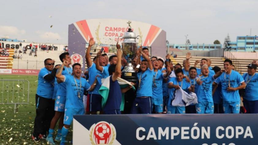 ¡Para primera! Deportivo Llacuabamba es campeón de la Copa Perú y logró su ascenso a la Liga 1