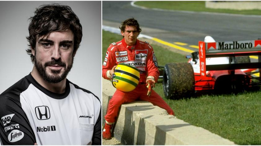 Fernando Alonso emula a Ayrton Senna
