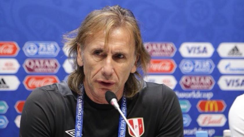 """""""Agradezco a los hinchas peruanos por el apoyo que hemos tenido desde siempre"""", esto dijo Gareca."""