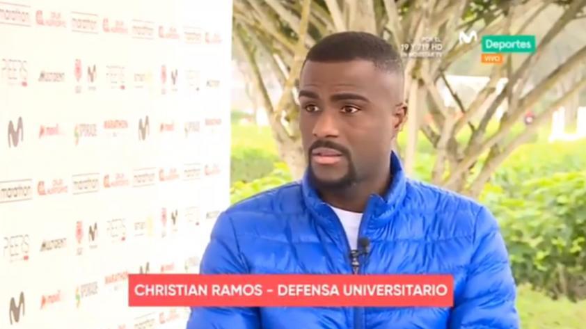 Christian Ramos en exclusiva para Movistar Deportes: