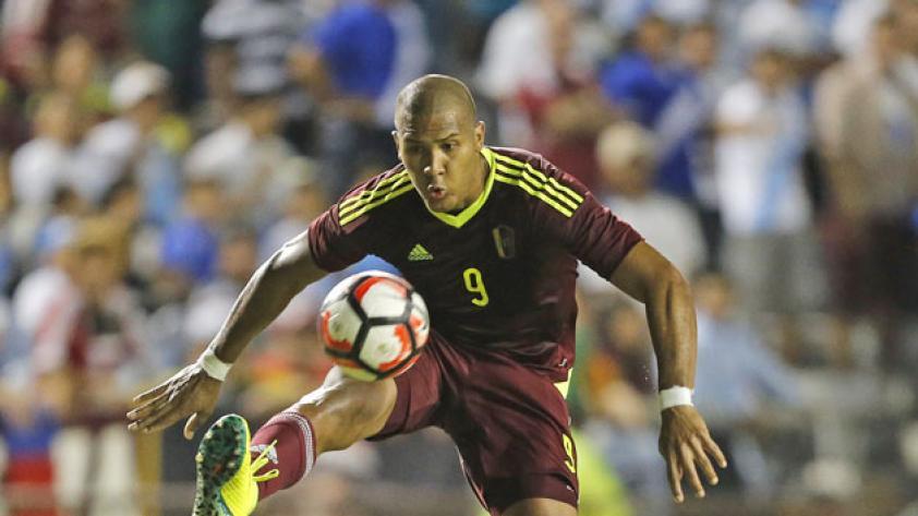 """Rondón: """"Estaría muy bien romper mi sequía goleadora con Perú"""""""