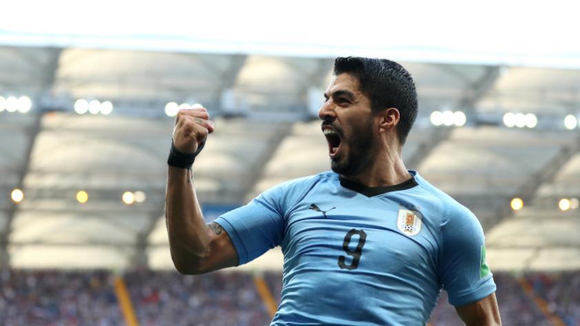Uruguay le ganó 1-0 a Arabia Saudita por la segunda fecha del grupo A de Rusia 2018