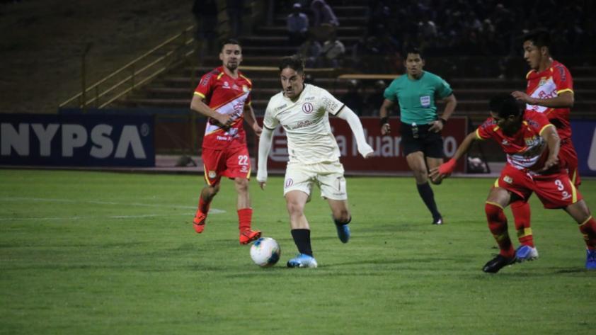 ¡Y dale Hohberg! Universitario derrotó 1-0 a Sport Huancayo por la octava jornada del Torneo Clausura