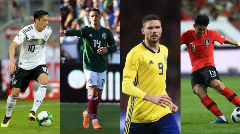 Rusia 2018: fecha y hora de los partidos del grupo F del Mundial