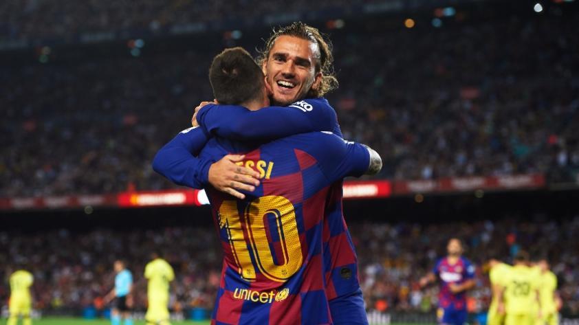 Antoine Griezmann sobre Lionel Messi: