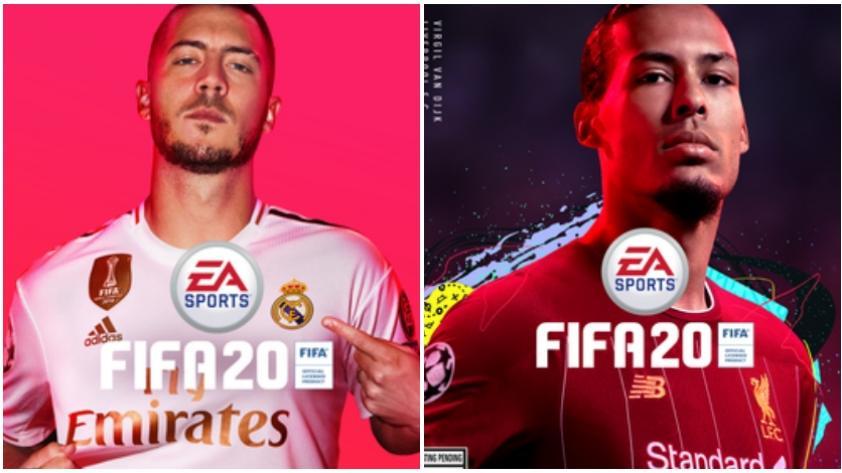 FIFA 20: EA Sports desplaza a Neymar y pone a Hazard en la portada del videojuego